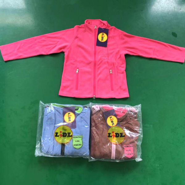 Polar Fleece Jacket Stock
